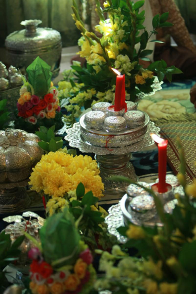 Traditional Cambodian (Khmer) Wedding Ceremonies PairedLife