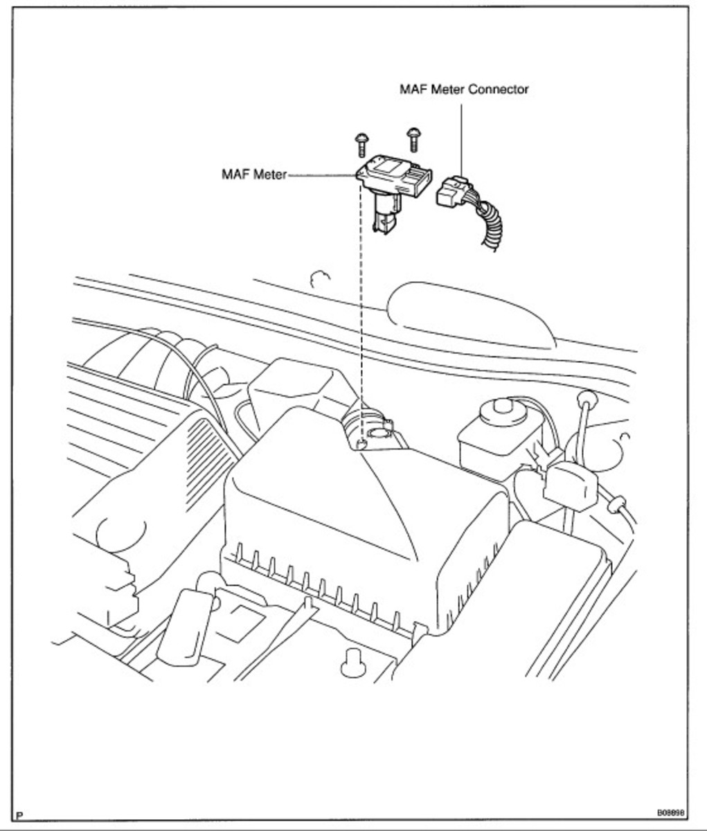 Engine Control Module and Sensor Locations AxleAddict