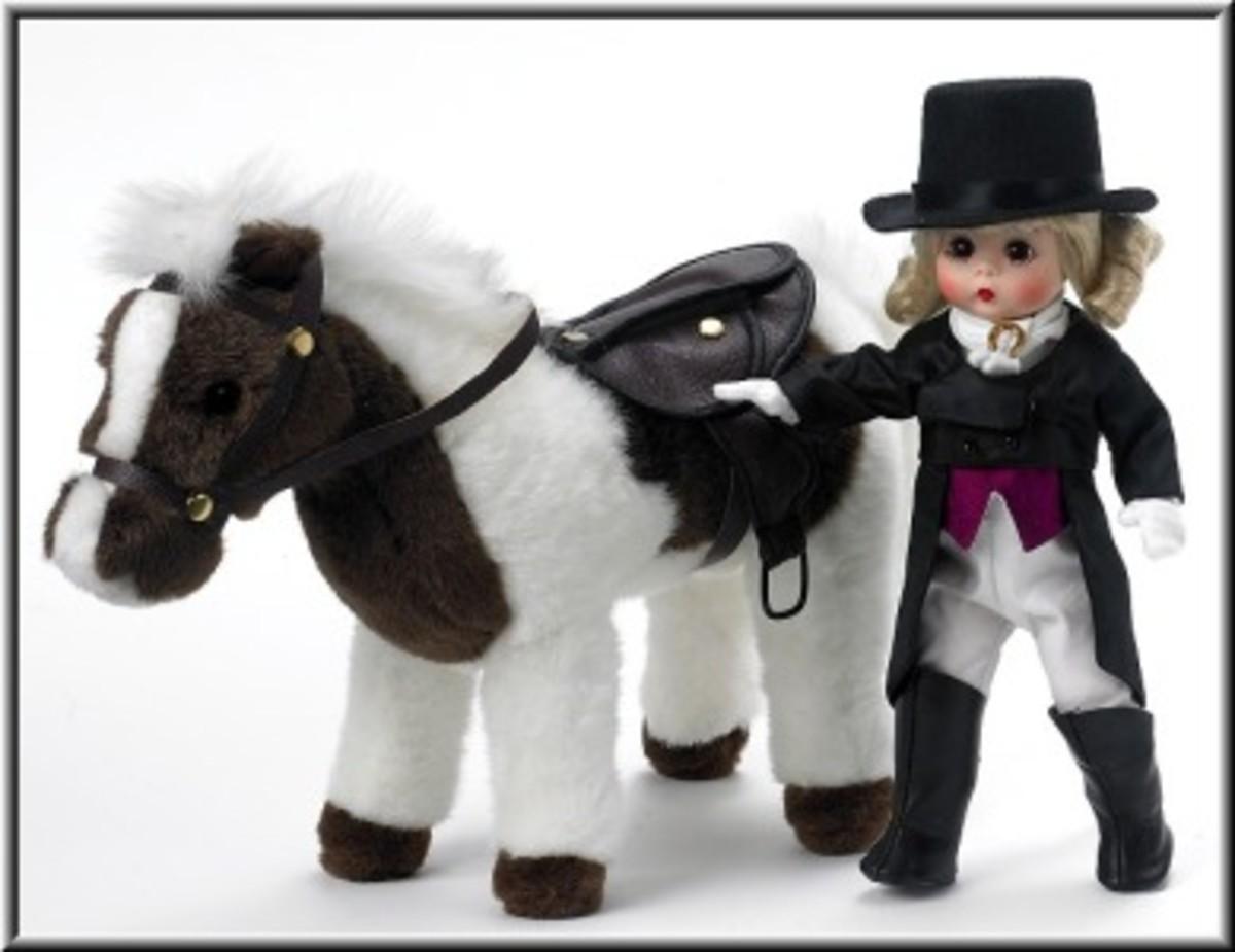 Top Toys Horseback Riding Dolls Equestrian Fashion And