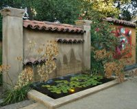 Mediterranean Patios, Pergolas, Stucco Terraces, Water ...