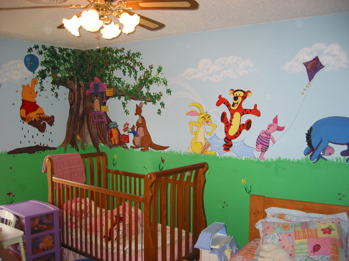 Walls For Kids Kids Wall Mural Ideas Hubpages