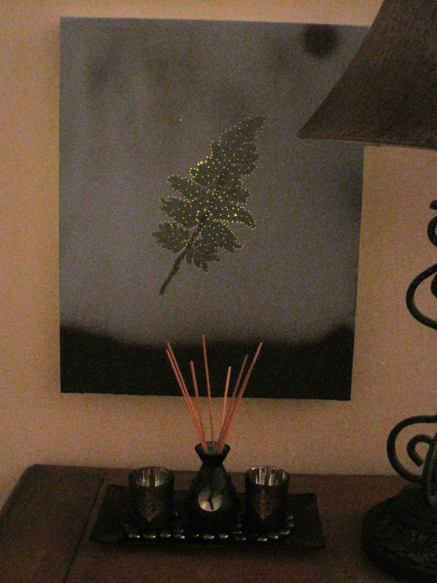 How To Make A Nightlight How To Make A Light Up Lighted Art Canvas
