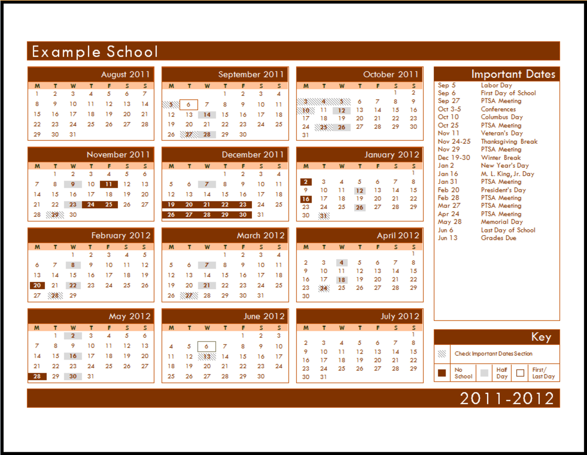 Microsoft Office Calendar Templates HubPages - microsoft office calendar