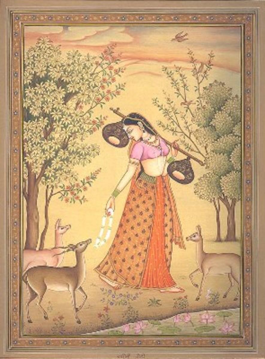 Hindustani Girl Wallpaper Seasons Moods Amp Timings Of Ragas In Indian Hindustani