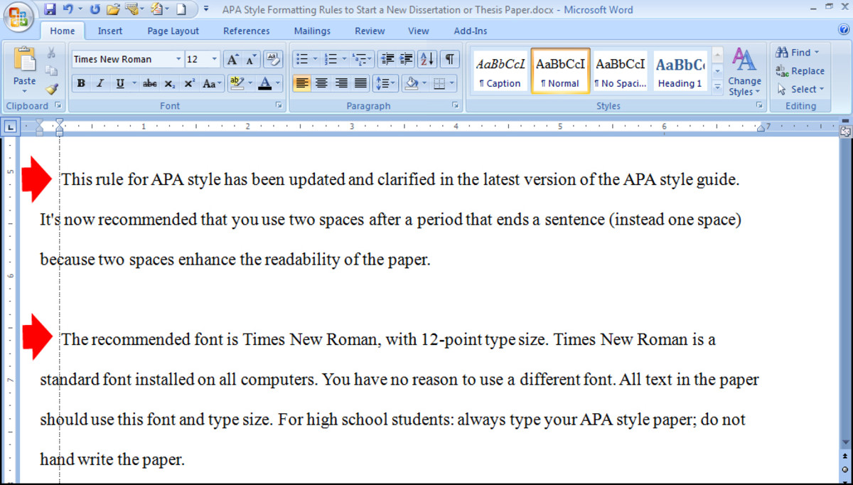 Essay Basics Format a Paper in APA Style Owlcation