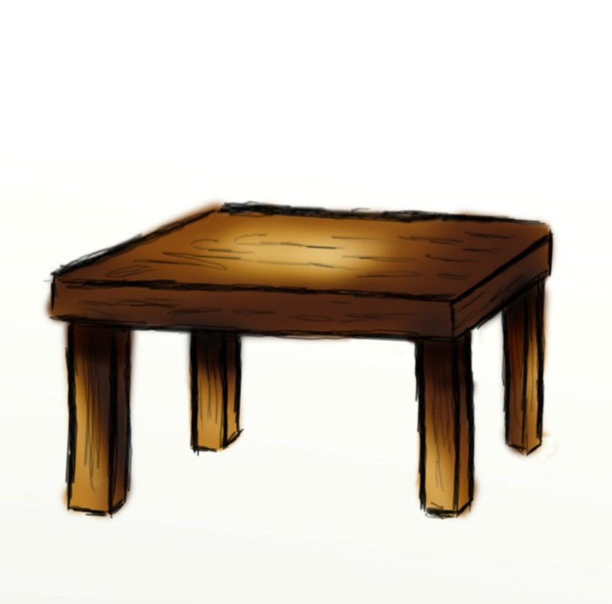 Night Table Clipart How To Draw A Table Hubpages