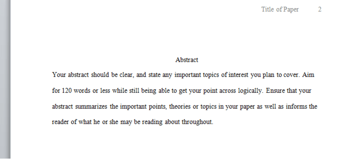 apa format for essay paper psychology research paper in apa format