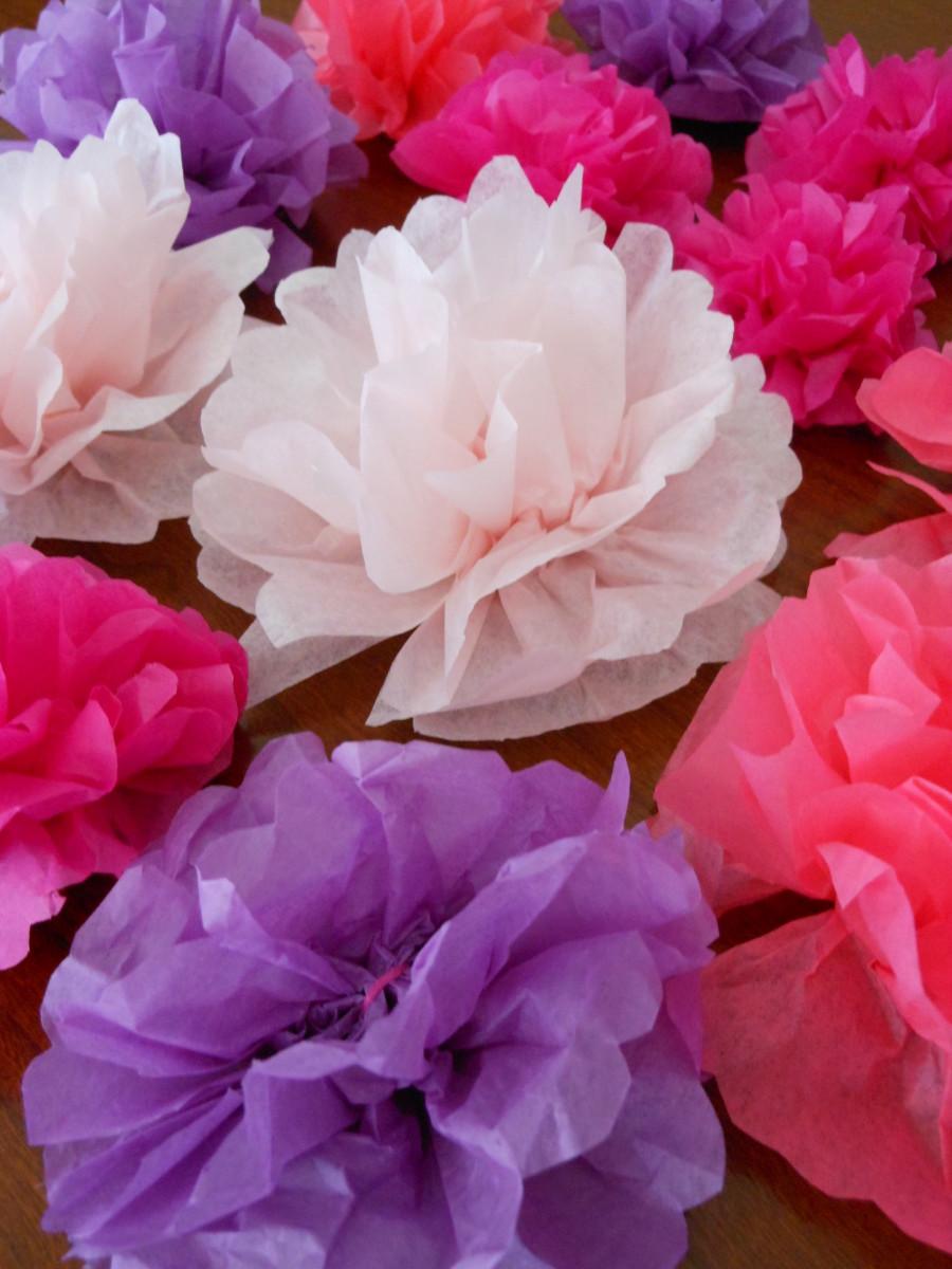 paper flower napkins