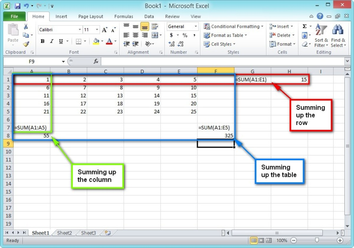 microsoft excel terms