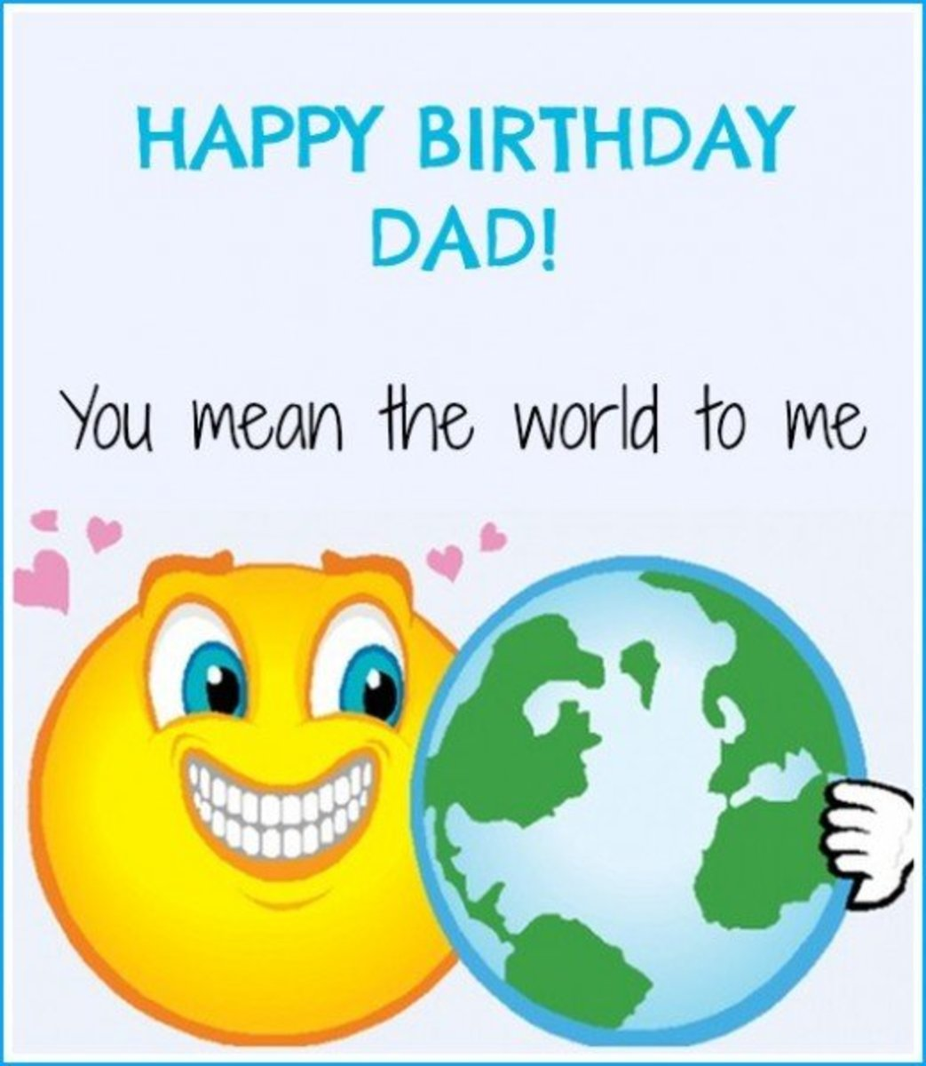 HAPPY BIRTHDAY DAD Free Birthday Greetings, Cards  Messages