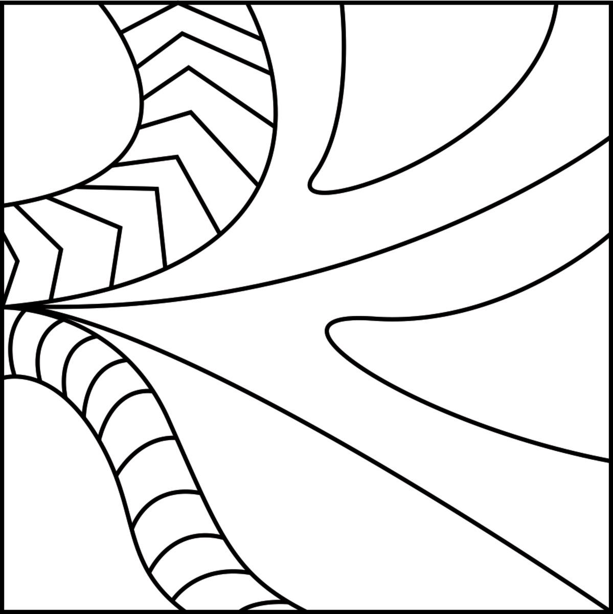 zentangle basics printable