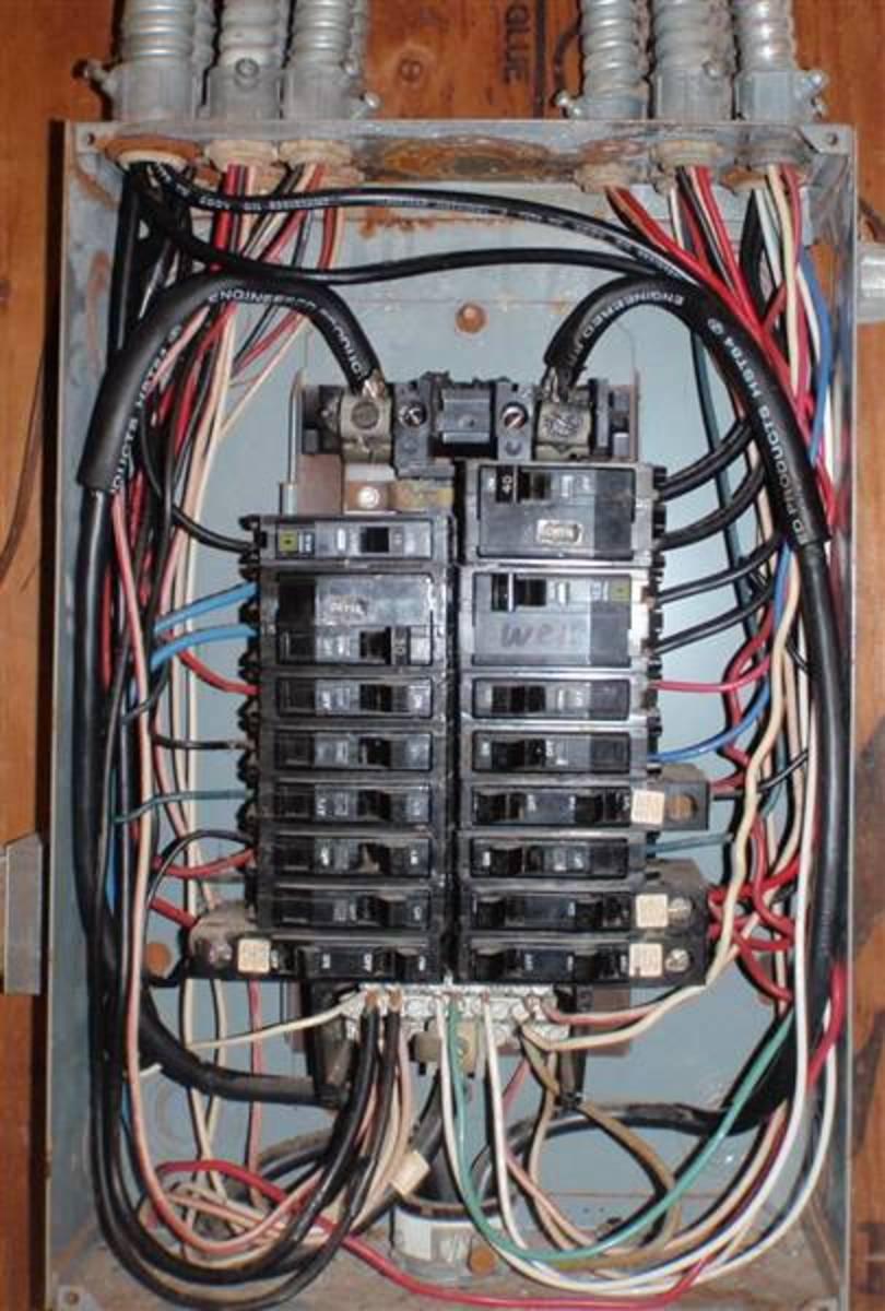 Basic House Wiring Panel Wiring Diagram