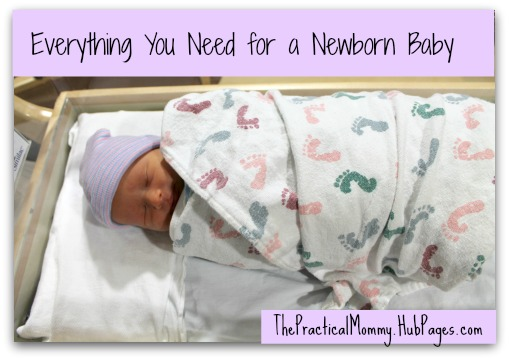Everything You Need for a Newborn Baby WeHaveKids