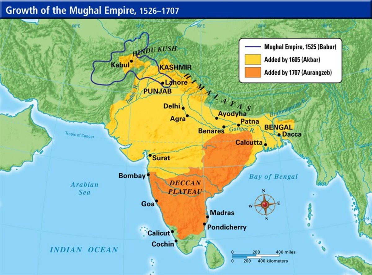 Religious Toleration in Mughal India Owlcation - mughal empire