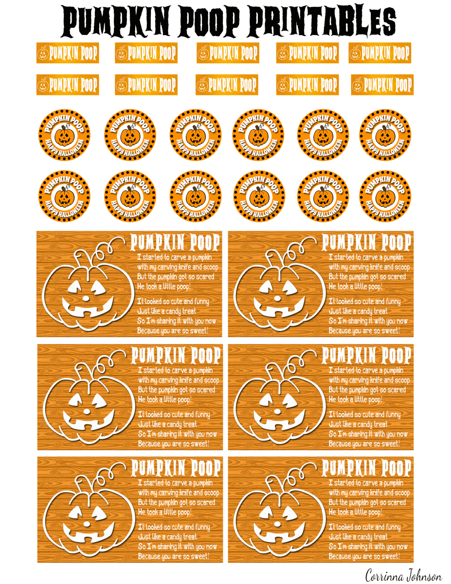 Pumpkin Poop in a Jar Craft and Printable Poem Holidappy
