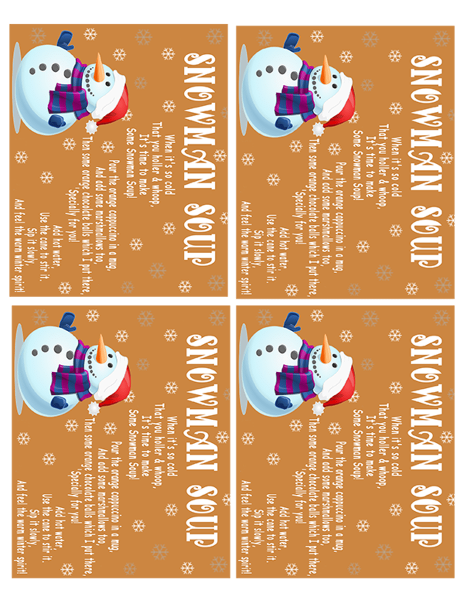 Homemade Melted Snowman Soup Gifts For Kids And Grown Ups Holidappy