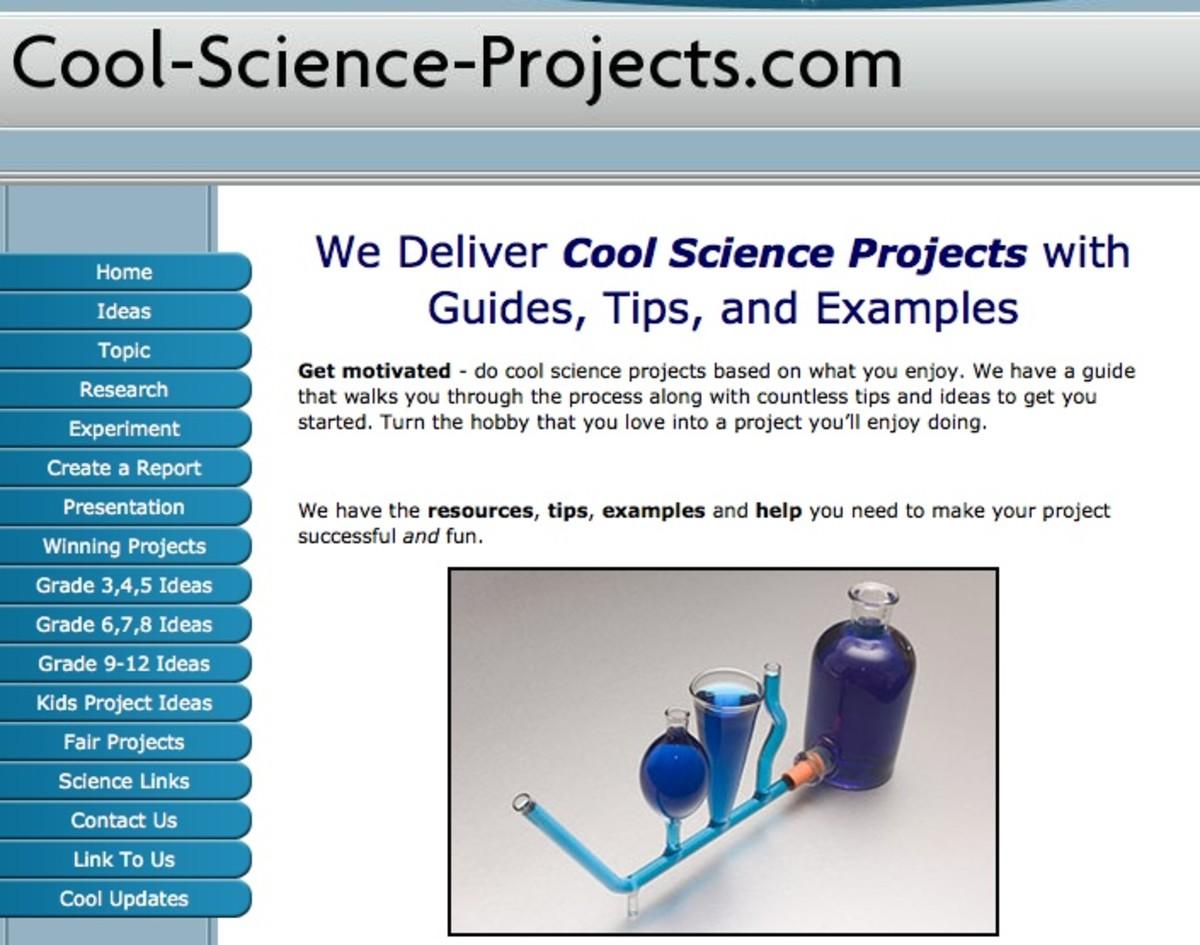 Best Science Fair Project Websites for Kids HubPages