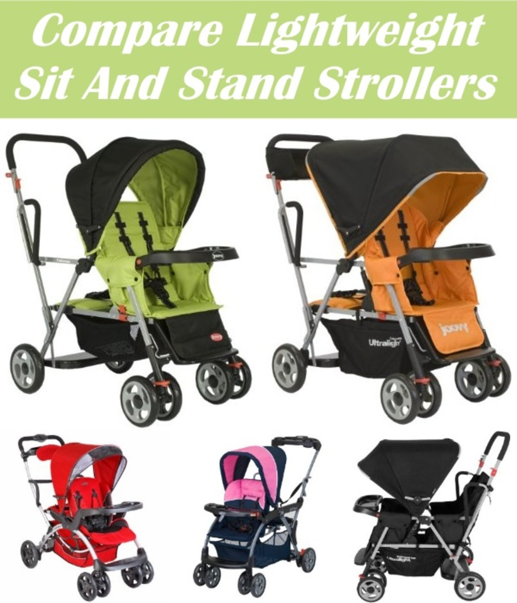 Best Tandem Lightweight Stroller The Best Sit And Stand Strollers Hubpages