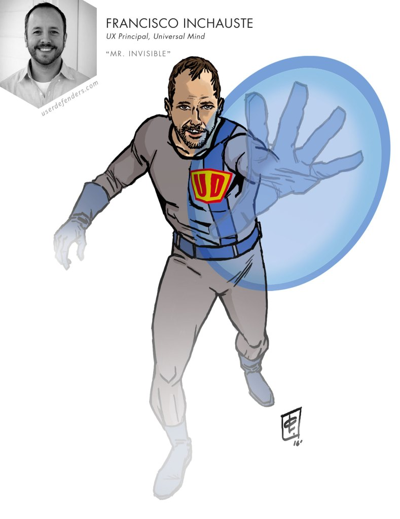 "User Defenders ""Mr. Invisible"" Francisco Inchauste"