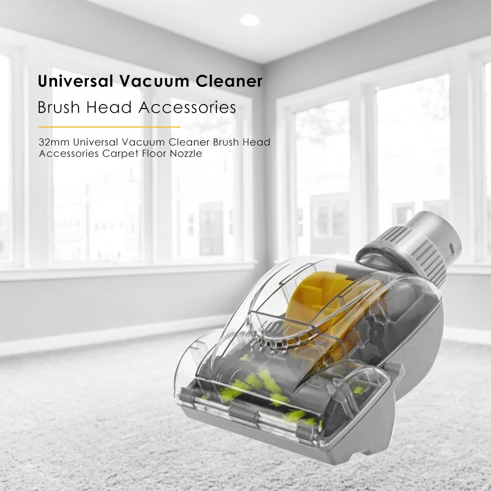 Sofa Vacuum Cleaner Brush 32mm Vacuum Cleaner Brush Head Carpet Floor Sofas Nozzle For Dyson