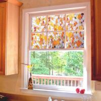 3D Static Cling Stained Glass Privacy Paper Frosted ...