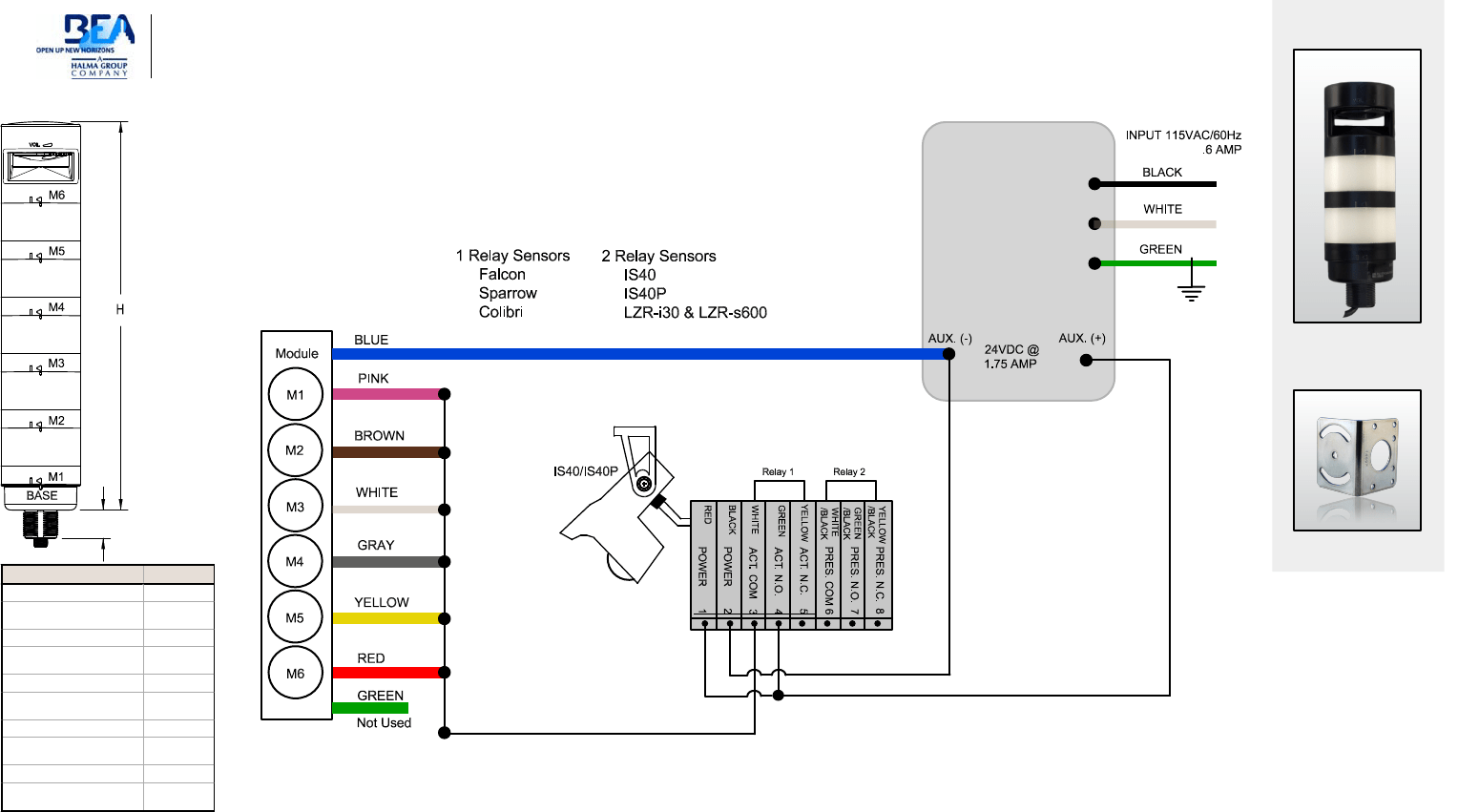 wiring electrical schematic polarity