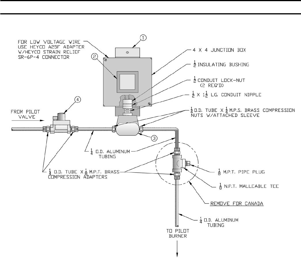 s8610m honeywell wiring