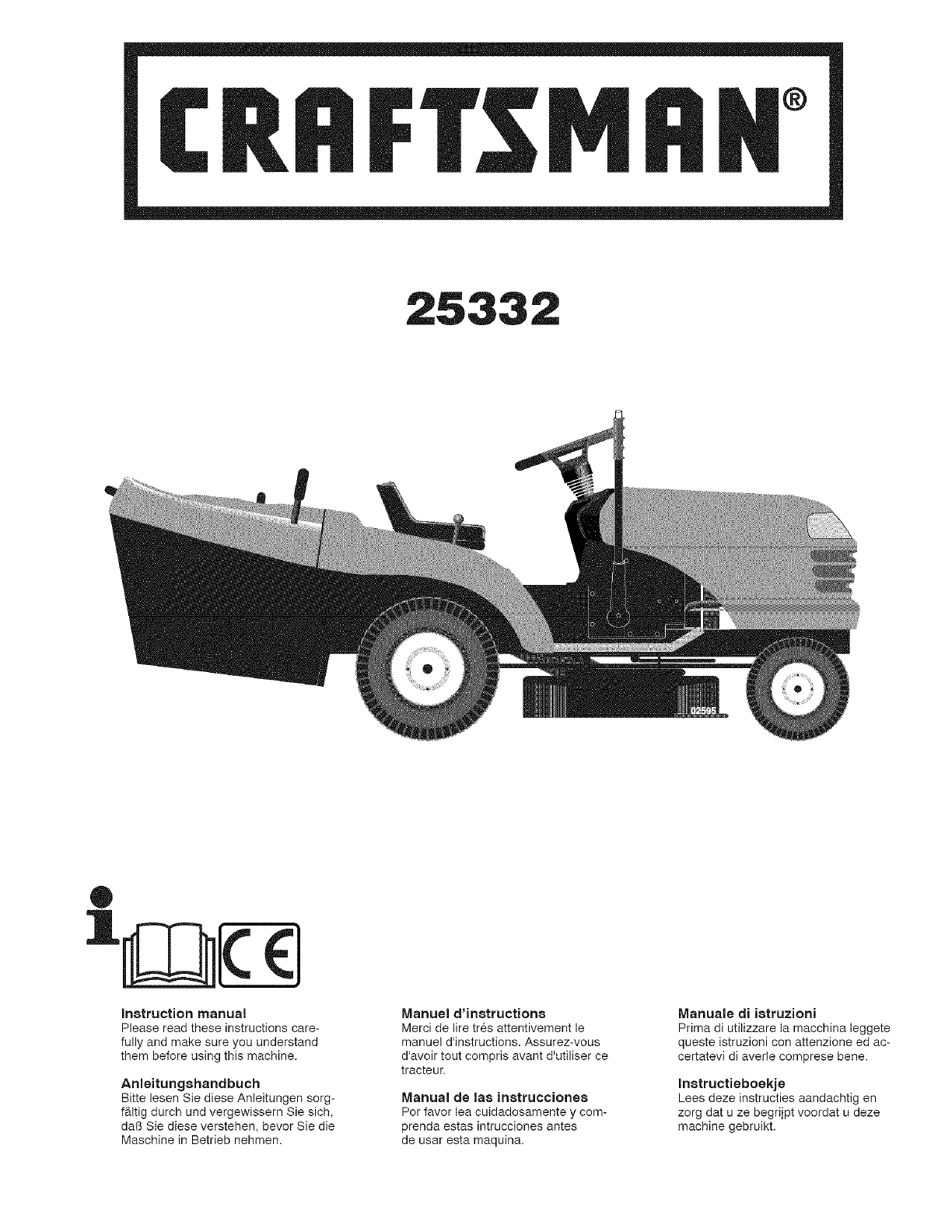 Il Tappeto Volante Wiki Craftsman 917253320 User Manual Tractor Manuals And Guides L0803332
