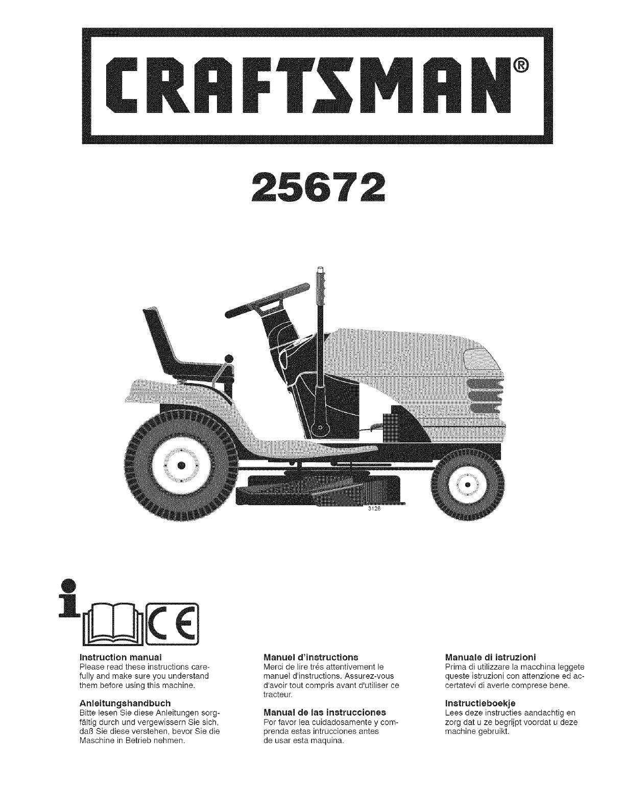 Il Tappeto Volante Wiki Craftsman 917256720 User Manual Tractor Manuals And Guides L0802451