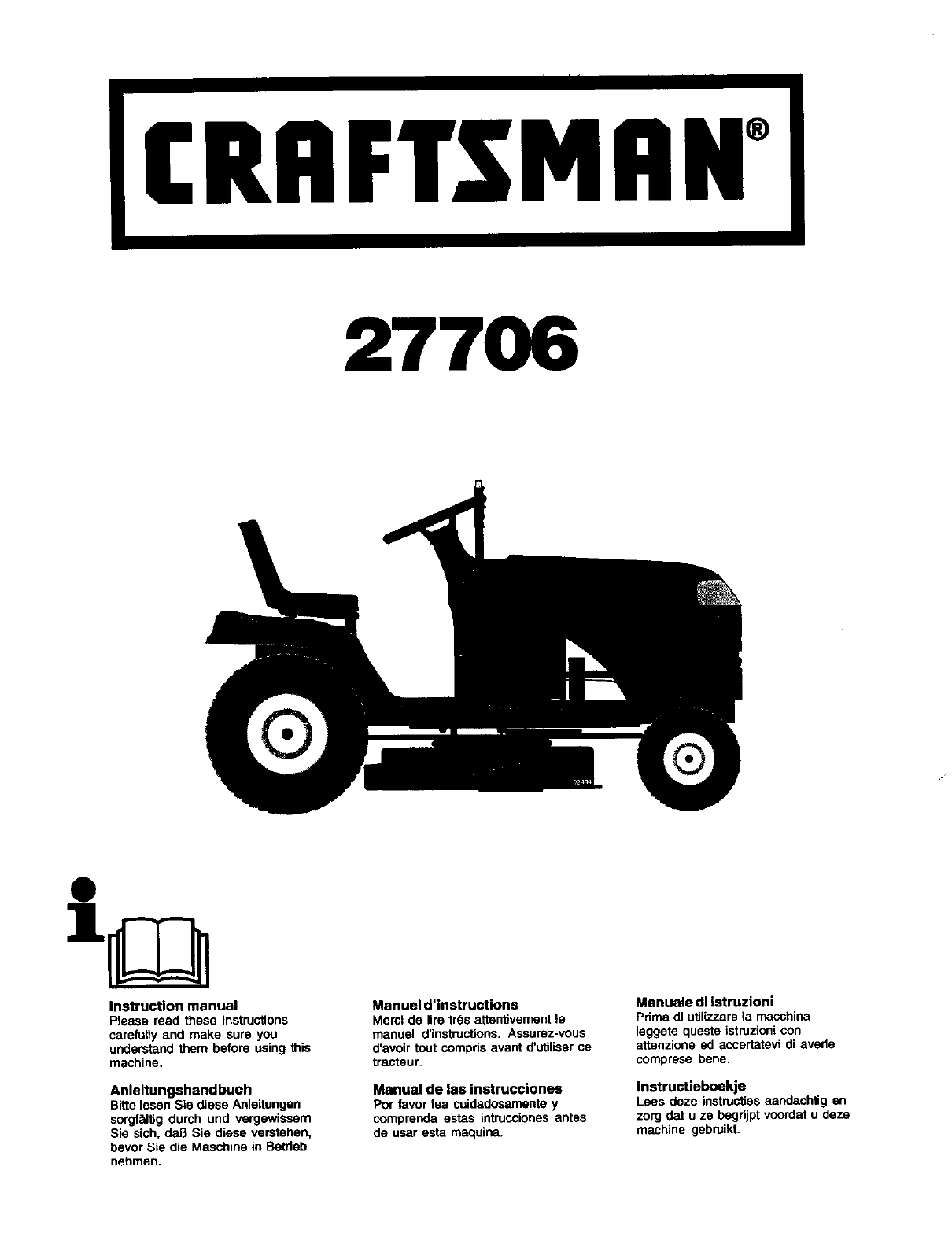 Il Tappeto Volante Wiki Craftsman 917277060 User Manual Lawn Tractor Manuals And Guides