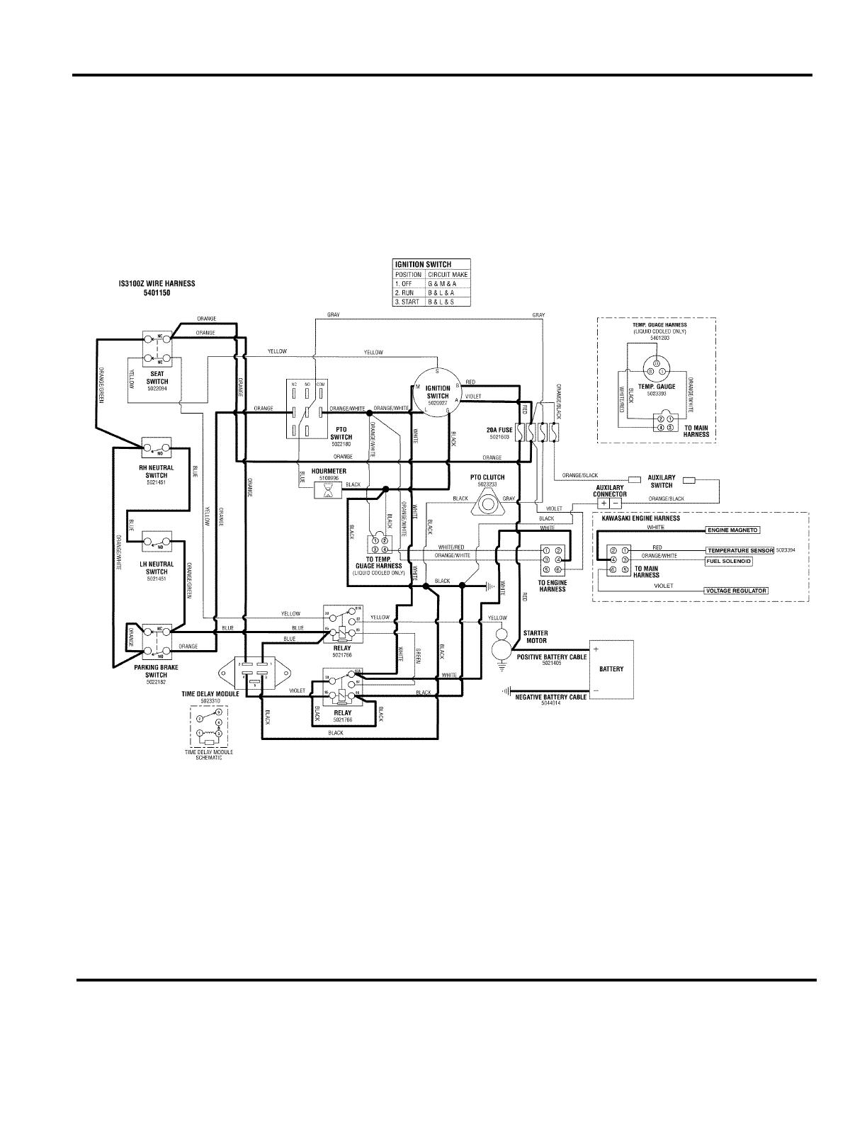 ferris is3000 wiring diagram