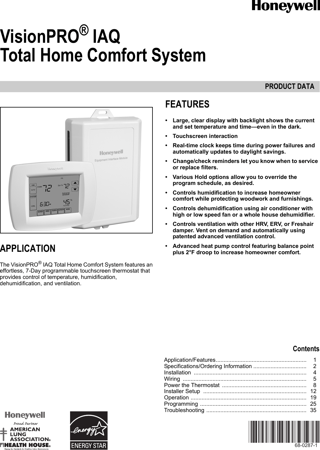 Honeywell Visionpro Iaq Wiring Diagram 38 Auto For
