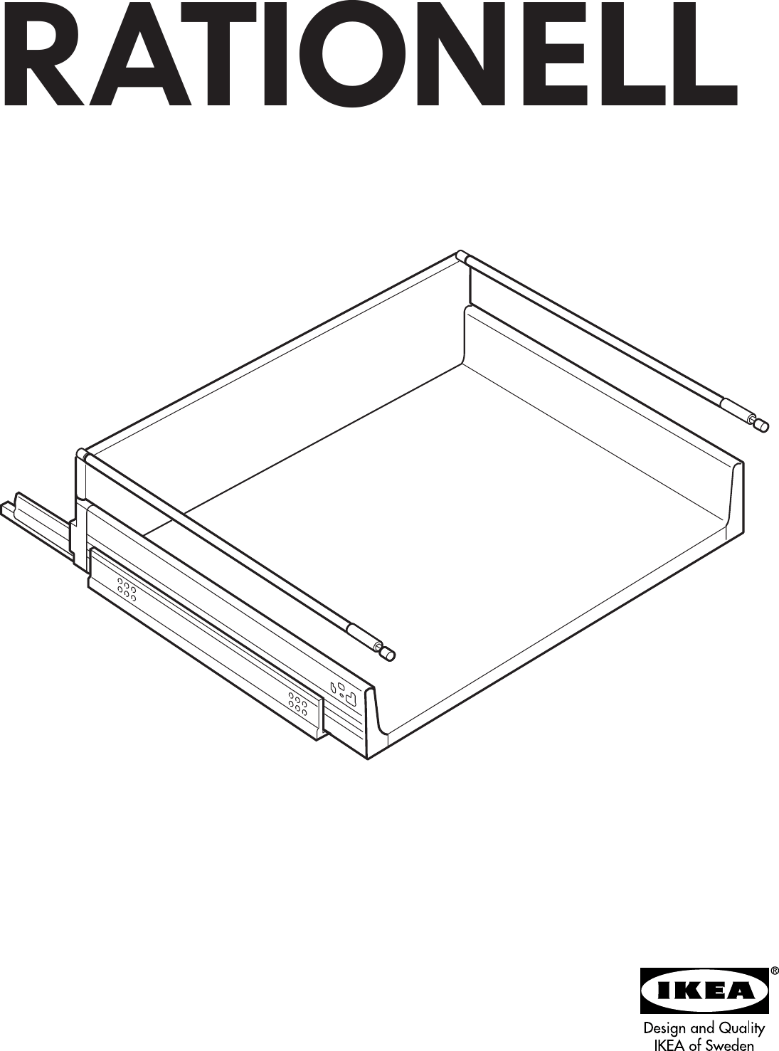 Ikea Faktum Assembly Instructions Ikea Rationell Deep Full Extending Drawer 18 Assembly