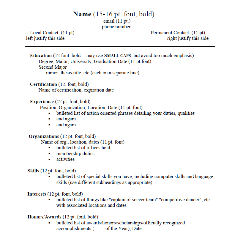 resume longer than one page
