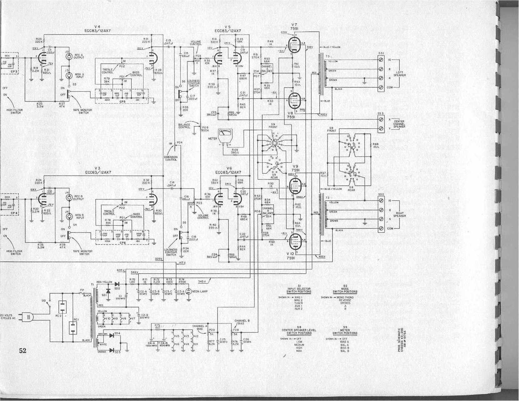 tube amp circuit