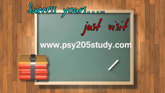 PSY 205 STUDY Education Redefined/psy205study by mikkili