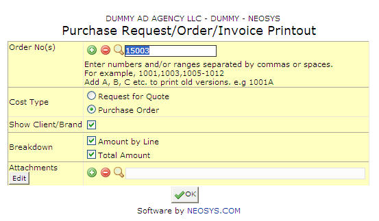 Purchase Request/Order/Invoice Printout - NEOSYS User Support Wiki - invoice print out