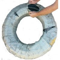 Bulk Hose 1 inch by 100 Foot Steel Reinforced for Oil and ...