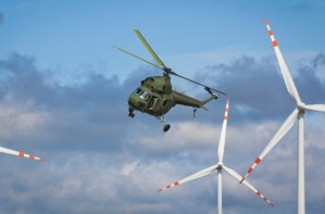 The U.S. military is the largest user of clean energy in the world. Image from Pike Research.