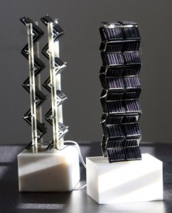 Accordion-Like Solar Panels Can Capture More Energy Than Flat Ones Do - Image from Alexob.co.uk
