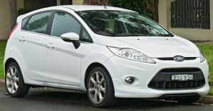 The Ford Fiesta Is One of Multiple Fuel-Efficient Vehicles in 2012 - Image from Autos.Yahoo.com