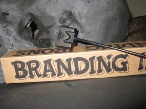 Branding yourself doesn't have to be painful. Image from ElegantAttic.