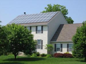 Installing Solar Energy Systems on Roofs Poses a Couple of Problems - Image from EcoFriend.com