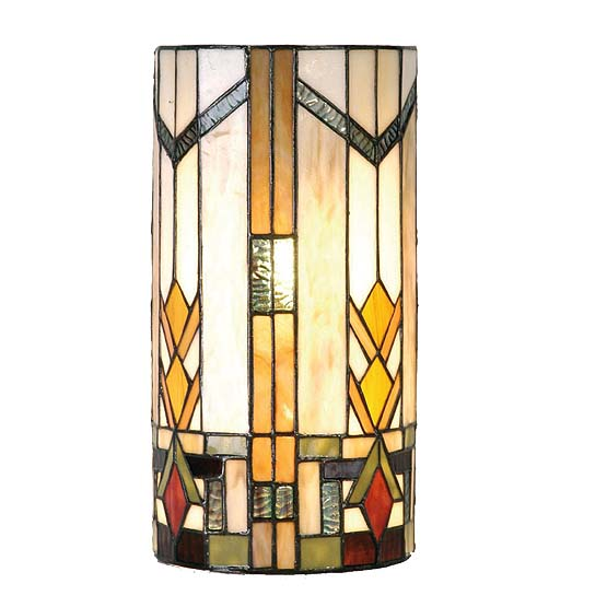 Tiffany Wall Lamp Boston 2 Usi Maison