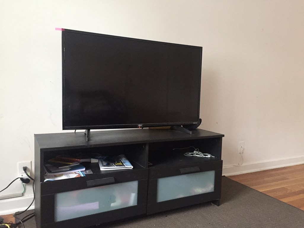 43 Inch Tv Lg 43 Inch 4k Uhdtv Ikea Tv Stand For Sale