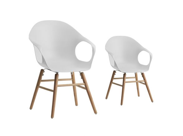 Canapes Panoramiques Tissu Lot De 2 Chaises Scandinaves Yoshi