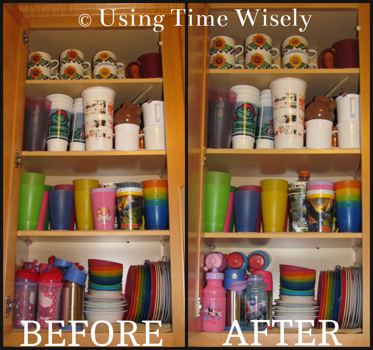 Organize Kitchen Cabinets Organizing Archives Using Time Wisely