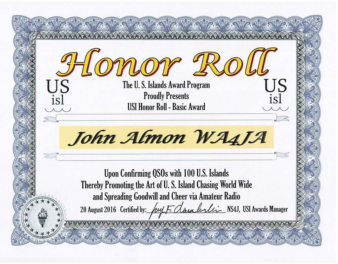 honor roll template