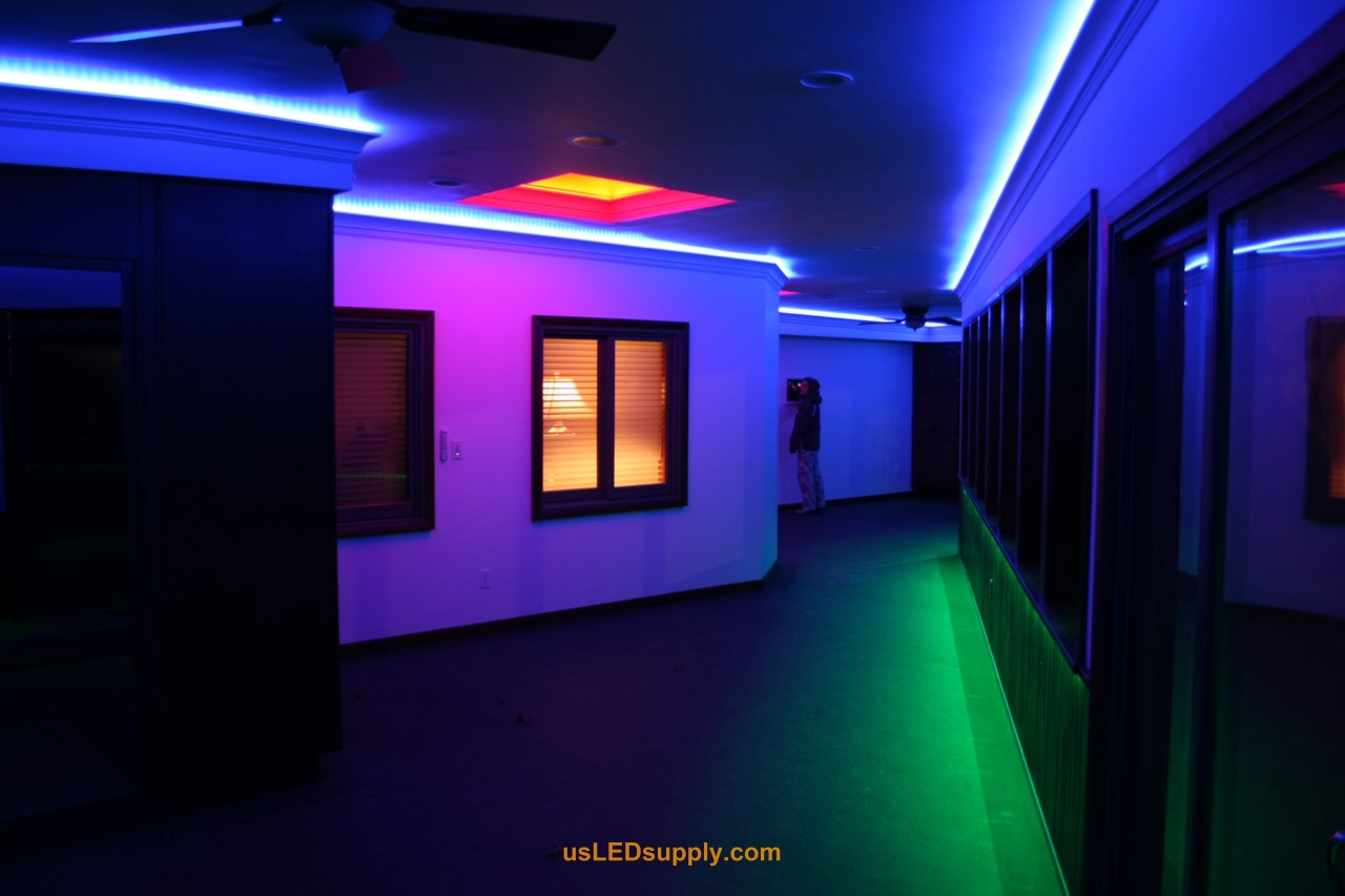 Lighting Rgb Hallway Accent Lighting