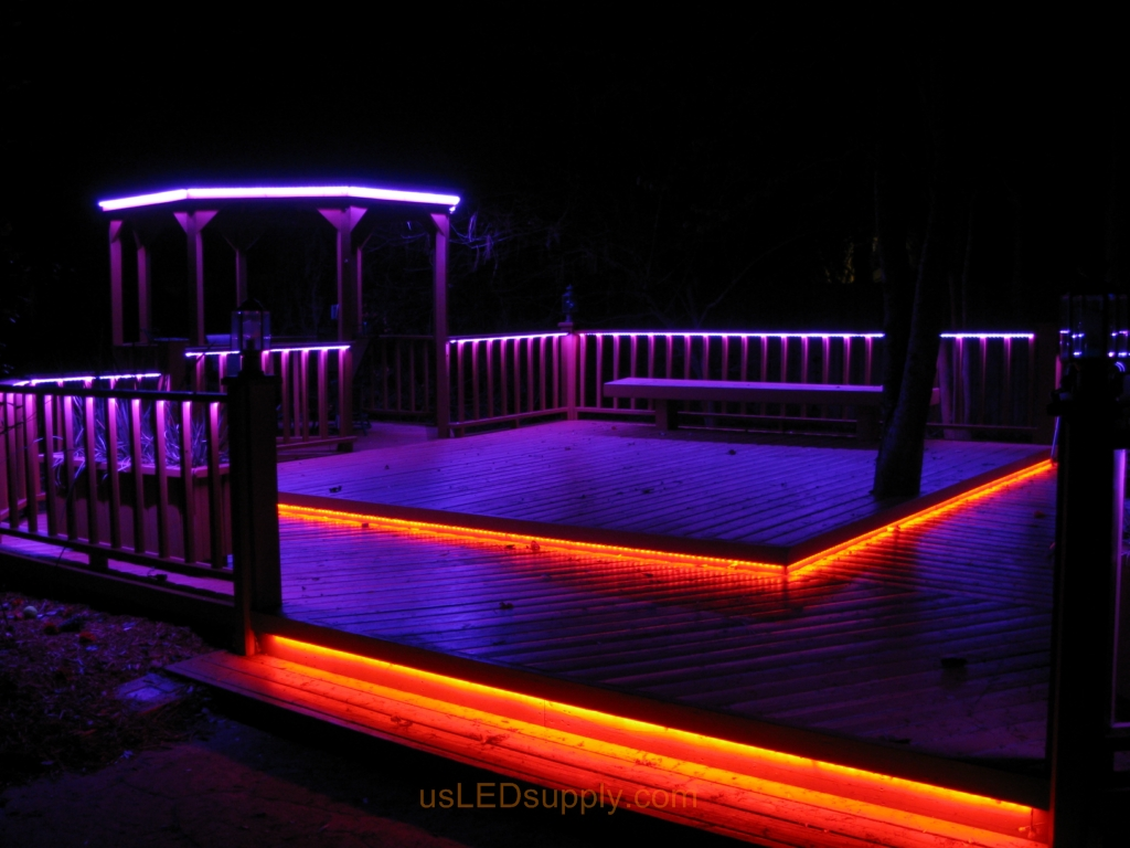 Lighting Rgb Led Deck Lighting